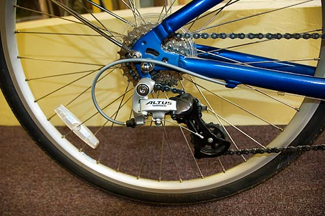 Suede Electric Bike for sale